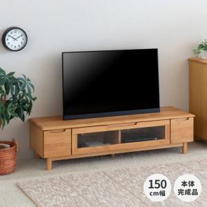 DENZOはゾロ目対象店!テレビ台 ローボード リビング収納 北欧 奥行45 エリス 150cm幅 テレビボード (IS)|denzo
