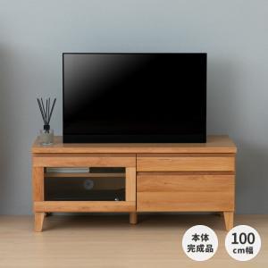 本日最終日!ポイント最大31倍!テレビ台 ローボード 収納 フロック 100 テレビボード アルダー (IS)|denzo