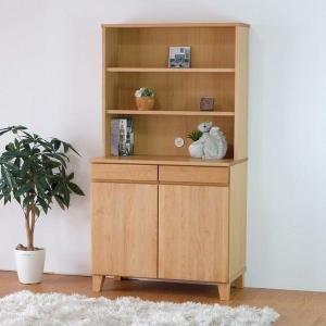 5のつく日!収納棚 飾り棚 収納家具 可動棚 無垢 バスク80シェルフ (IS)|denzo