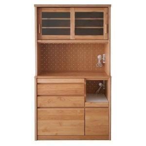 ポイント最大31倍!キッチンボード 収納 アルダー 木製 ナチュラル ボレロ (IS)|denzo