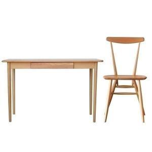 学習机 椅子 セット フルール 120 デスク + スカラ (IS)|denzo