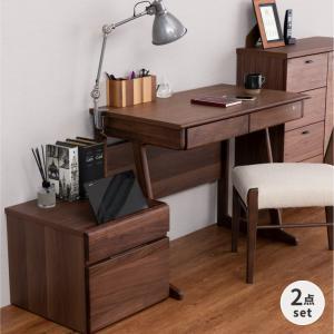 学習机 机 2点セット フリンク 90 デスク+プリンターカート (IS)|denzo