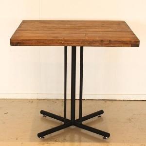 カフェテーブル 古木風 パイン無垢材 レトロオイルで仕上げ Kelt ケルト (TO)|denzo