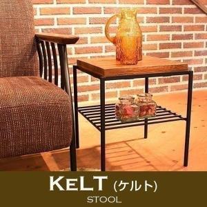 スツール 椅子 Kelt ケルト シリーズ 古木風 パイン無垢材 オイルで仕上げ 木目 レトロ (TO)|denzo