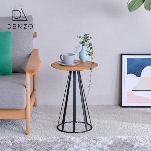 サイドテーブル ラウンドテーブル ディスプレー 木製 幅34 ラディア アルダー (IS)|denzo