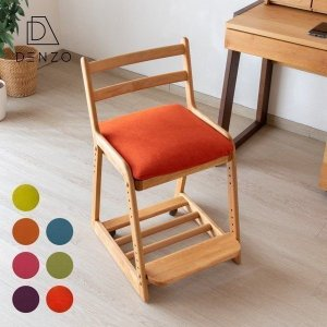 2点セット 子供部屋家具 学習椅子 ライフ デスク チェア +  カバー スタンダード ISSEIKI|denzo