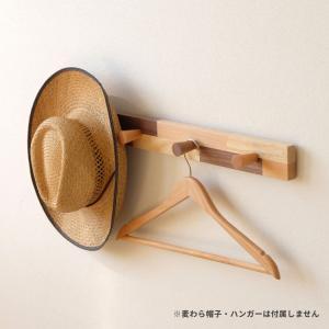 ハンガーラック ハンガー掛け 木製 壁掛け おしゃれ デコラ ISSEIKI|denzo