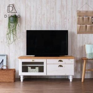 テレビ台 テレビボード 完成品 おしゃれ 南欧 フレンチ カントリー 北欧 幅100 マーガレット (IS) denzo