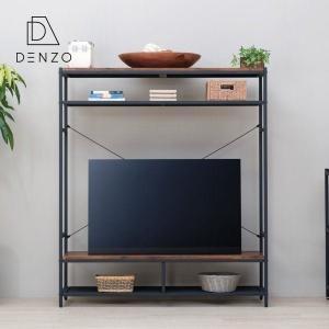 テレビボード おしゃれ テレビラック ディスプレイ アカシア ガリス 130 ISSEIKI|denzo
