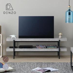 テレビ台 ローボード コンクリート調 幅120 おしゃれ スチール グレー コヨーテ ISSEIKI|denzo
