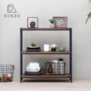ラック 棚 おしゃれ シェルフ ディスプレイ ガリス 80-85 ISSEIKI|denzo