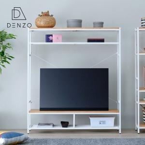 テレビボード おしゃれ テレビラック ディスプレイ 無垢 アイアン ガリス 130 ISSEIKI|denzo