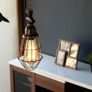 照明 シンプル インテリア レトロ アンティーク風 北欧 キッチン ダイニング カフェ風 インダストリアル PENDANT LIGHT-003|denzo