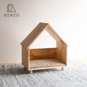 ペットハウス 室内 クッション付 かわいい おしゃれ ナチュラル ラブシア ペットハウス+クッション(グレー)|denzo