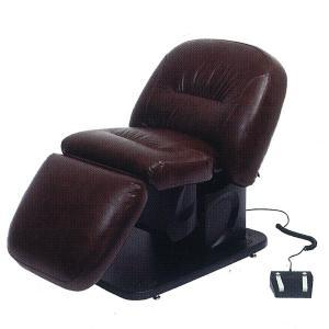 電動バックシャンプー椅子 BURLY(バーリー) プレミアブラウン|depakyu