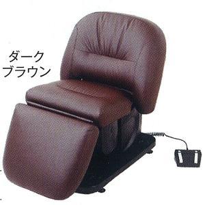 電動バックシャンプー椅子 BURLY(バーリー) ダークブラウン|depakyu