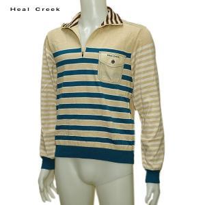 ヒールクリーク Heal Creek メンズ 秋冬 カシミヤ混 ジップアップ セーター サイズ50(L) depot-044