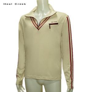 ヒールクリーク Heal Creek メンズ 秋冬 ジップアップ 長袖シャツ サイズ52(LL)|depot-044