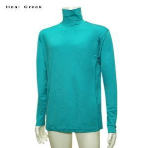 ヒールクリーク Heal Creek メンズ 秋冬 ハイネック 長袖シャツ サイズ50(L)|depot-044