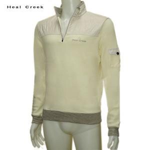 ヒールクリーク Heal Creek メンズ 秋冬 吸湿発熱 ジップアップ トレーナー サイズ52(LL) depot-044
