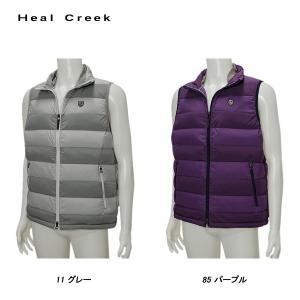 ヒールクリーク Heal Creek メンズ 秋冬 ダウン ベスト|depot-044