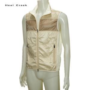 訳あり ヒールクリーク Heal Creek メンズ 秋冬 撥水 フルジップ ベスト サイズ48(M)|depot-044