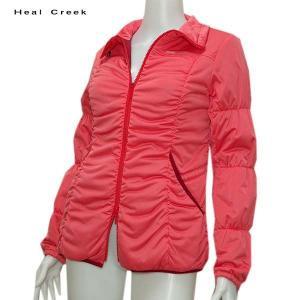 ヒールクリーク Heal Creek レディース 中綿 防風 ジャケット サイズ40 depot-044