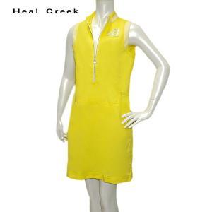 訳あり ヒールクリーク Heal Creek レディース 春夏 吸水速乾 ノースリーブ ワンピース サイズ42|depot-044