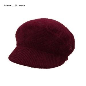処分価格 ヒールクリーク Heal Creek レディース アンゴラ キャップ|depot-044