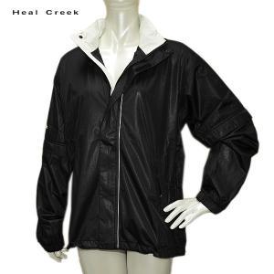在庫処分 ヒールクリーク Heal Creek レディース レイン ジャケット サイズ42|depot-044