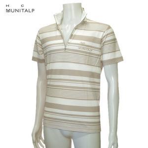 ヒールクリーク Heal Creek ムニタルプ メンズ 春夏 ジップアップ 半袖シャツ サイズ52(LL)|depot-044