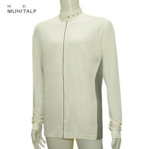 ヒールクリーク Heal Creek ムニタルプ メンズ 秋冬 ハイネック 吸湿発熱 長袖シャツ サイズ50(L)|depot-044