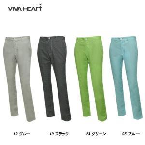 ビバハート VIVA HEART メンズ 春夏 撥水 柄 パンツ|depot-044