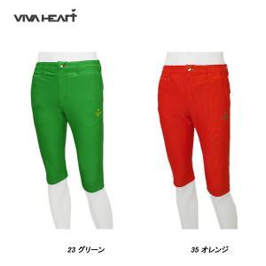 ビバハート VIVA HEART メンズ 春夏 ゴルフ ストレッチ 吸水速乾 ハーフパンツ|depot-044