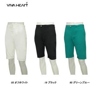 ビバハート VIVA HEART メンズ 春夏 UVカット ストレッチ ハーフパンツ|depot-044