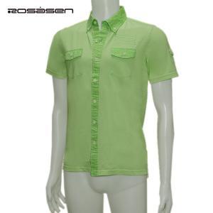 ロサーセン Rosasen メンズ 春夏 半袖 シャツ サイズ46|depot-044