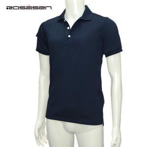 ロサーセン Rosasen メンズ 春夏 半袖 ポロシャツ サイズ46|depot-044