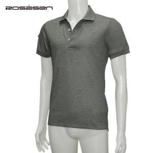 ロサーセン Rosasen メンズ 春夏 吸水速乾 半袖 ポロシャツ サイズ46|depot-044