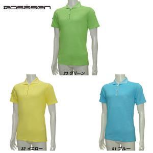 ロサーセン Rosasen メンズ 春夏 半袖 吸水速乾 ポロシャツ サイズ48|depot-044