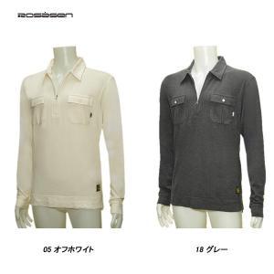 ロサーセン Rosasen メンズ 秋冬 ジップアップ 長袖シャツ|depot-044