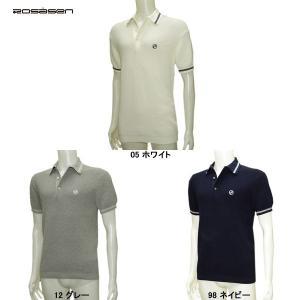 ロサーセン Rosasen メンズ 半袖ニットシャツ|depot-044