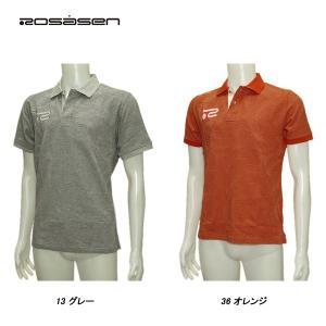 ロサーセン Rosasen メンズ 春夏 半袖 リンクスジャガード ポロシャツ|depot-044