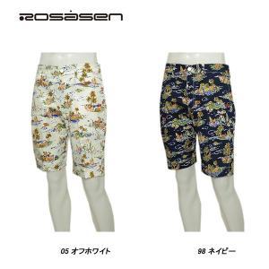 ロサーセン Rosasen メンズ 春夏 プリント柄 ショートパンツ|depot-044