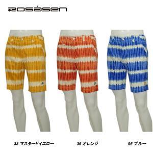 ロサーセン Rosasen メンズ 春夏 ストレッチ UVケア グラデーション ショートパンツ|depot-044