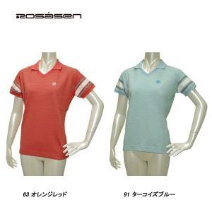 ロサーセン Rosasen レディース 春夏 半袖 フットボール系 シャツ|depot-044