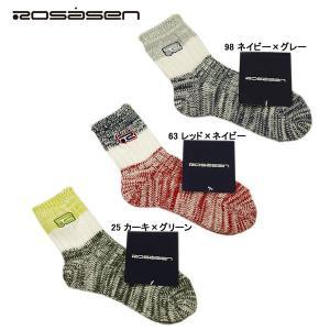 ロサーセン Rosasen レディース 靴下 ソックス depot-044