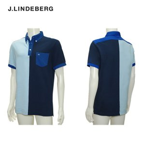 J.リンドバーグ J.LINDBERG メンズ 春夏 半袖シャツ サイズ46(M)|depot-044