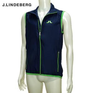 J.リンドバーグ J.LINDEBERG メンズ 春夏 フルジップ ベスト|depot-044
