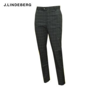 J.リンドバーグ J.LINDEBERG メンズ 春夏 チェック柄 パンツ|depot-044