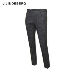 J.リンドバーグ J.LINDEBERG メンズ 春夏 ロゴ柄 タイトフィット パンツ|depot-044